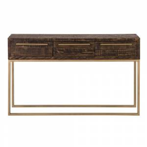 Alpine Monterey Wood Hall Table in Smokey Taupe