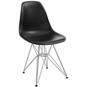 Overstock Paris Dining Side Chair (Black)