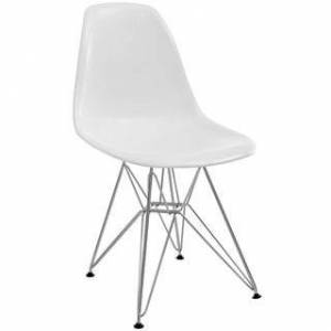 Overstock Paris Dining Side Chair (White)