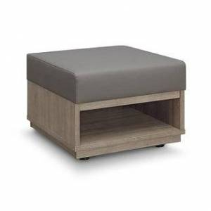 "Carson Carrington Lunne Waiting Room Reception Bench - 24"" x 24"" x 18"" (Stratus Poly Seat)"