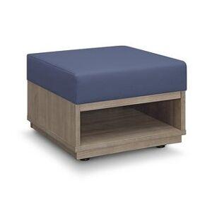 "Carson Carrington Lunne Waiting Room Reception Bench - 24"" x 24"" x 18"" (Ocean Poly Seat)"