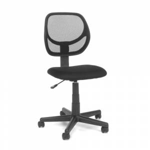 OFM Essentials by OFM E1009 Armless Mesh Back and Fabric Task Chair (GRAY)