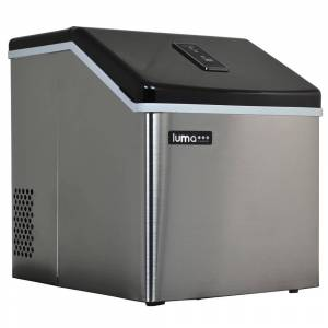 Luma Comfort Portable Clear Ice Maker 28 lb Stainless Steel (Stainless Steel)