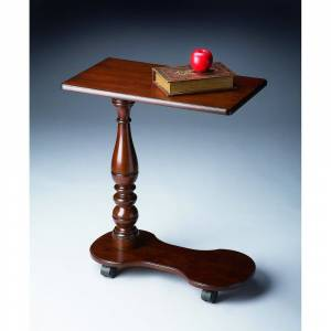 Butler Handmade Cherry Mobile Tray Table (Cherry Mobile Tray Table)