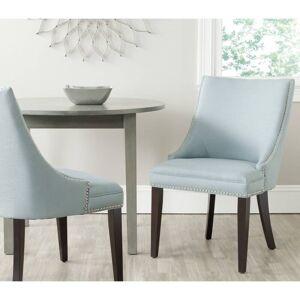 "Safavieh Dining Afton Light Blue Dining Chairs (Set of 2) - 22"" x 25.6"" x 36.4"" (MCR4715A-SET2)"