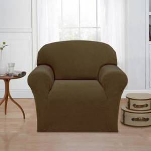 Sanctuary Basketweave Stretch Chair Slipcover (Green)