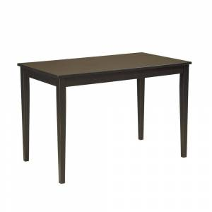 Signature Design by Ashley Kimonte Rectangular Dining Room table (Black)