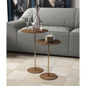 Modloft Dey 18in. Side Table in Walnut (Wood)