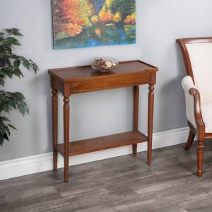 Butler Handmade Specialty Simple Wood Burl Console Table (Wood)