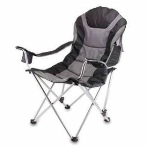 Oniva Picnic Time Reclining Camp Chair (Black)