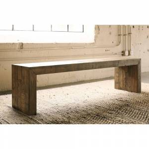Signature Design by Ashley Sommerford Dining Room Bench - N/A (Single - Brown - Short - 16-22 in.)