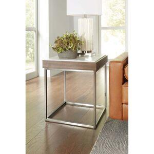 Modus Furniture International Ennis Jazz Marble End Table (Marble)