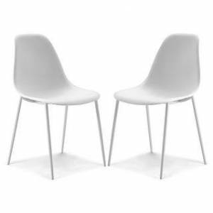 Poly and Bark Isla Chair (Set of 2) (White)