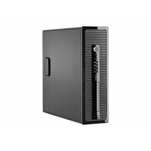 HP 400G1 SFF i3-4130 3.4GHz 8GB 120GB SSD Win 10 Pro (Refurbished) (Black)