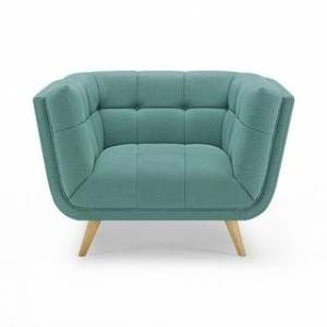 Overstock Carson Carrington Indor Soft Fabric Accent Leisure Lounge Chair (Green)