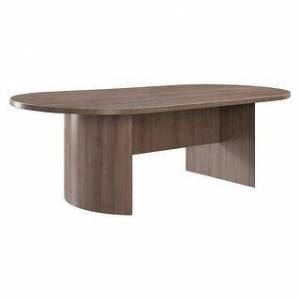 Copper Grove Flemming 96-inch Oval Conference Table (Stone Walnut)