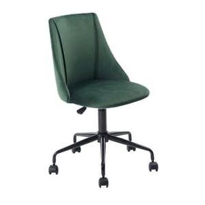 Porch & Den Voges Ergonomic Home Office Chair (Dark Green)
