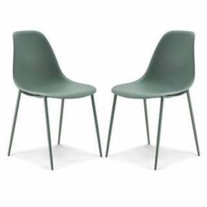 Poly and Bark Isla Chair (Set of 2) (Pistachio Green)