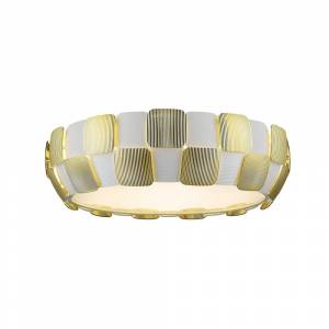 Access Lighting Layers LED 22-inch Flush Mount, Gold (Gold)