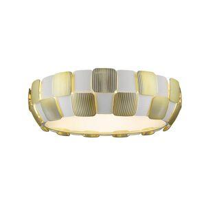 Access Lighting Layers 6-light 22-inch Flush Mount, Gold (Gold)