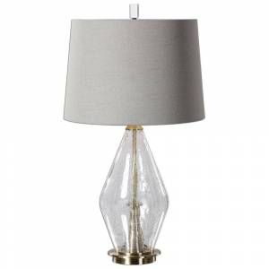 Uttermost Spezzano Crackled Glass Lamp (Lamps)