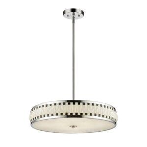 Avery Home Lighting Sevier LED Pendant in Chrome (Lights)
