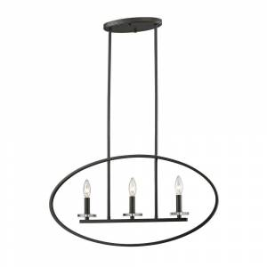 Avery Home Lighting Verona 3-light Pendant in Brushed Nickel (Lights)