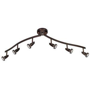 Access Mirage 6-light Bronze LED Spotlight Semi-flush Mount (Bronze)