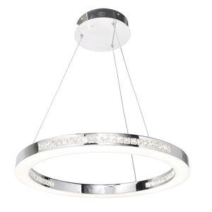 Access Lighting Affluence Chrome 24 inch LED Ring Pendant (Chrome)
