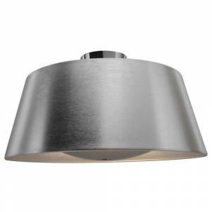 Access Lighting SoHo 3-light Brushed Steel Flush Mount (Brushed Silver)