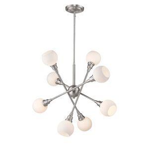 Avery Home Lighting Tian Pendant Light 616-8C-BN-LED