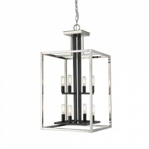 Avery Home Lighting Quadra 8-light Chandelier (Bronze/Gold - Brass/Bronze)