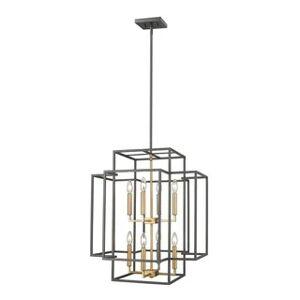 Avery Home Lighting Titania 8-light Pendant (Bronze/Gold - Brass/Bronze)