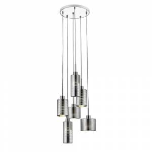 Avery Home Lighting Sempter Chrome 6-light Pendant