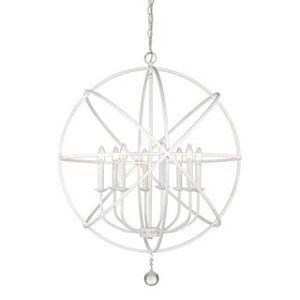 Avery Home Lighting Tull 8-light Chandelier (White)