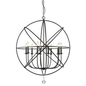 Avery Home Lighting Tull 10-light Chandelier (Black)