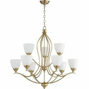 Quorum International Fall Flora 9-light Chandelier (Brass/Bronze)