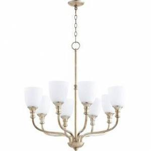 Quorum International Richmond 8-light Chandelier (Silver Finish)