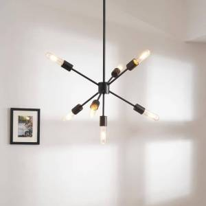 Design Craft Wun Contemporary 7-light Chandelier - N/A (Brown - Assembly Required - 60 to 100 Watts)