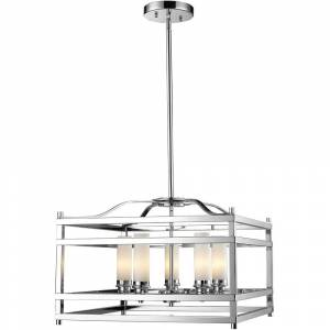 Avery Altadore 5-light Chrome Chandelier (Altadore Polished Nickel 5 Light Pendant)