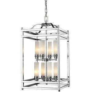 Avery Altadore 8-light Chrome Chandelier - Polished Nickel - Polished Nickel (Altadore Polished Nickel 8 Light Pendant)