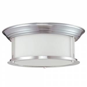 Avery Home Lighting 3-light Ceiling Lamp - Silver (Brushed Nickel)