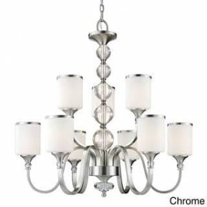 Avery Home Lighting 9-light 60-watt Chandelier (Chrome - Chrome)