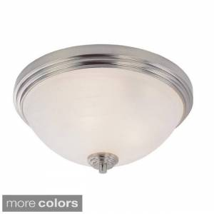 Avery Home Lighting Minimalist 2-light Flush Mount Pendant (Bronze)