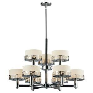 Avery Home Lighting Elea 9-light Chrome Chandelier (Chrome)