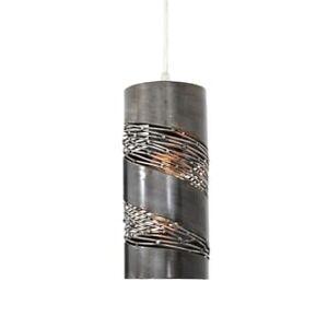 Varaluz Flow 1-light Mini Pendant (Silver)