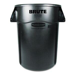 Rubbermaid Commercial 44-gallon Black Brute Vented Trash Receptacle (Black)