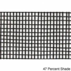 Riverstone Industries Shade Cloth (12 x 30) (BLACK 12FT X 30FT 47 Percent Shade)