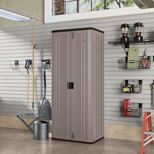 Suncast Tall Utility Storage Cabinet