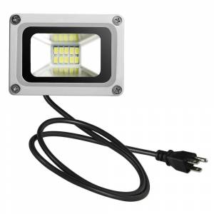 LivEditor 10W 6th Generation Flood Light Ultra-thin Cold White American Standard (D6USBT50W110VX4)